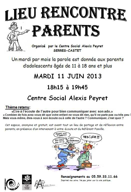 Rencontre parents
