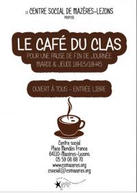 affiche café clas mazères
